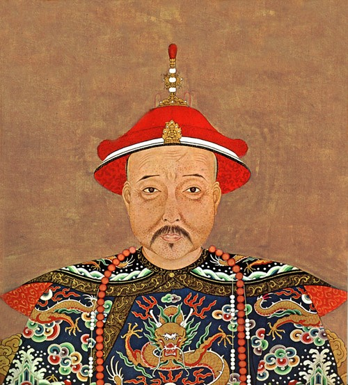 Kang Xi second emperor in Qing dynasty)